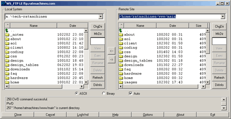 WS_FTP LE setup and configuration